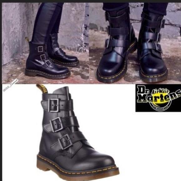 dr martens blake buckle boots